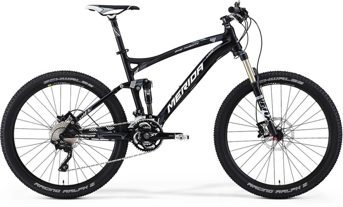 Велосипед горный Merida One-Twenty XT-Edition 2014, двухподвесный, цвет: серый, рама 18, колесо 26111869
