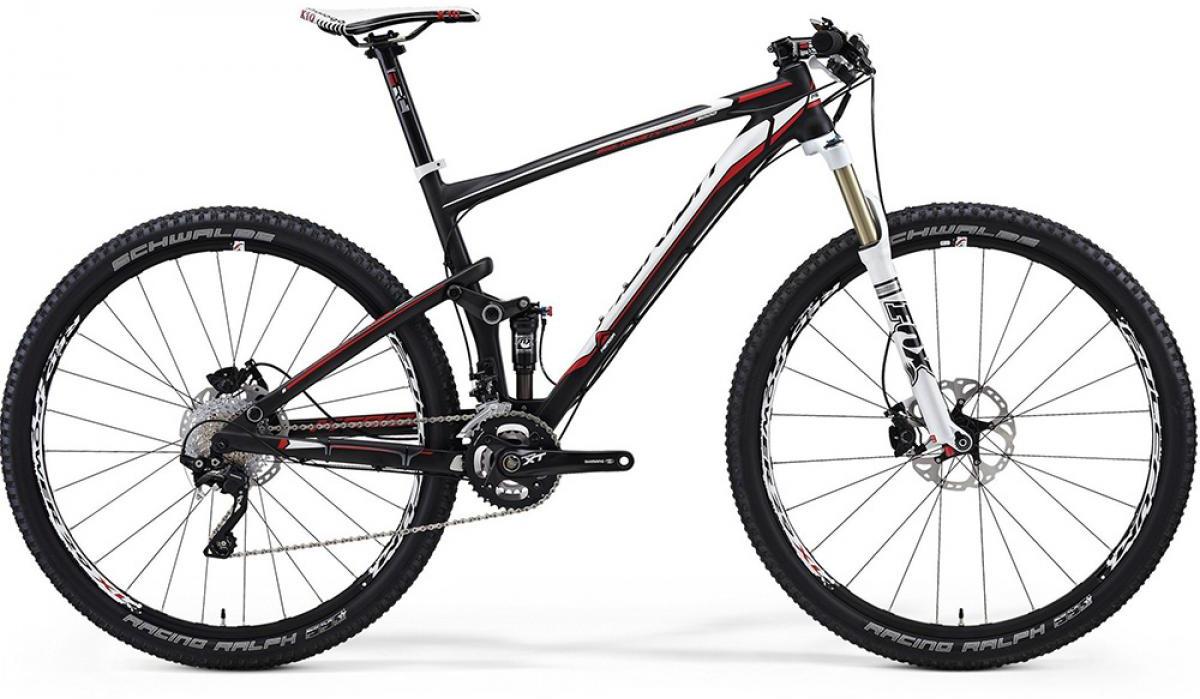 Велосипед горный Merida Big Ninety-Nine CF 3000 2014, цвет: красный, рама 19, колесо 29112155
