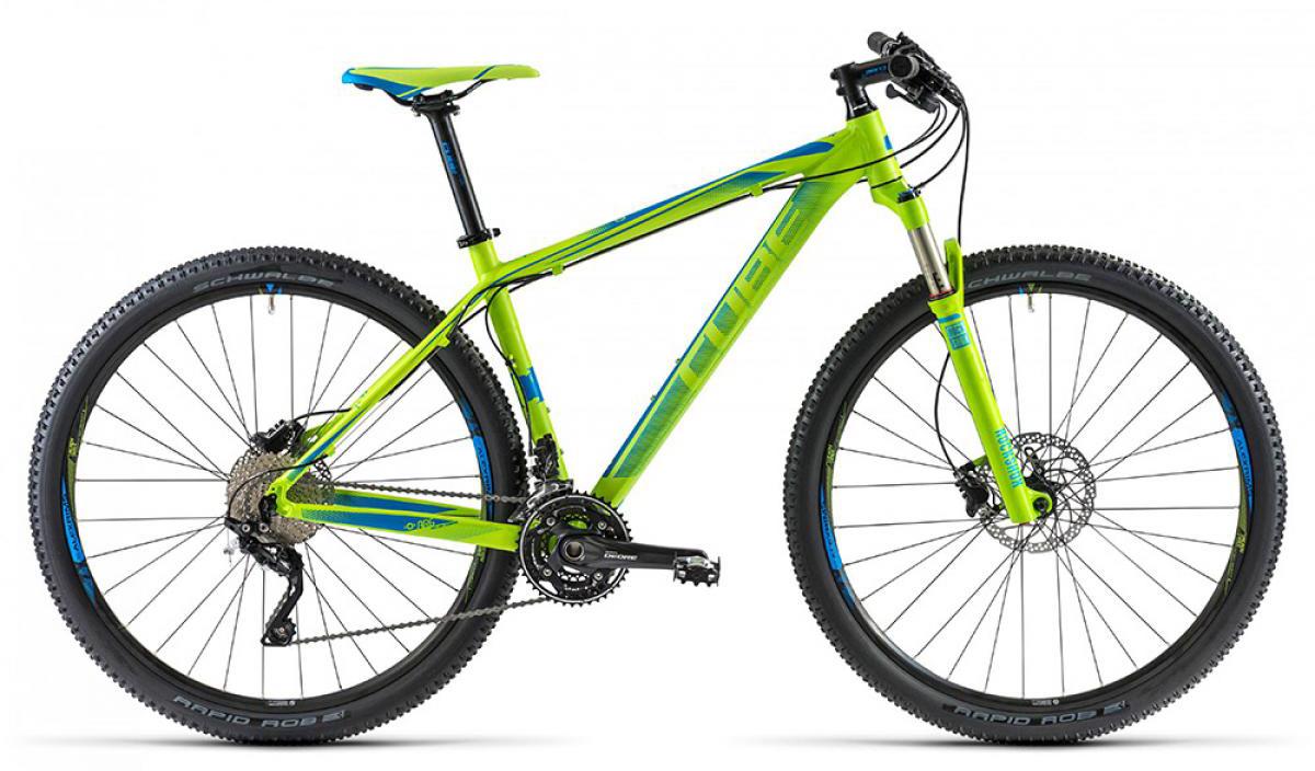 Велосипед горный Cube LTD 2014, цвет: синий, рама 17, колесо 29112475