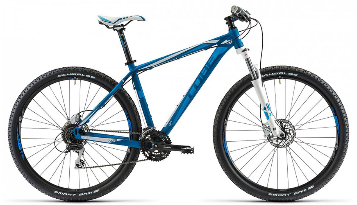 Велосипед горный Cube Aim SL 2014, цвет: синий, рама 17, колесо 29112498