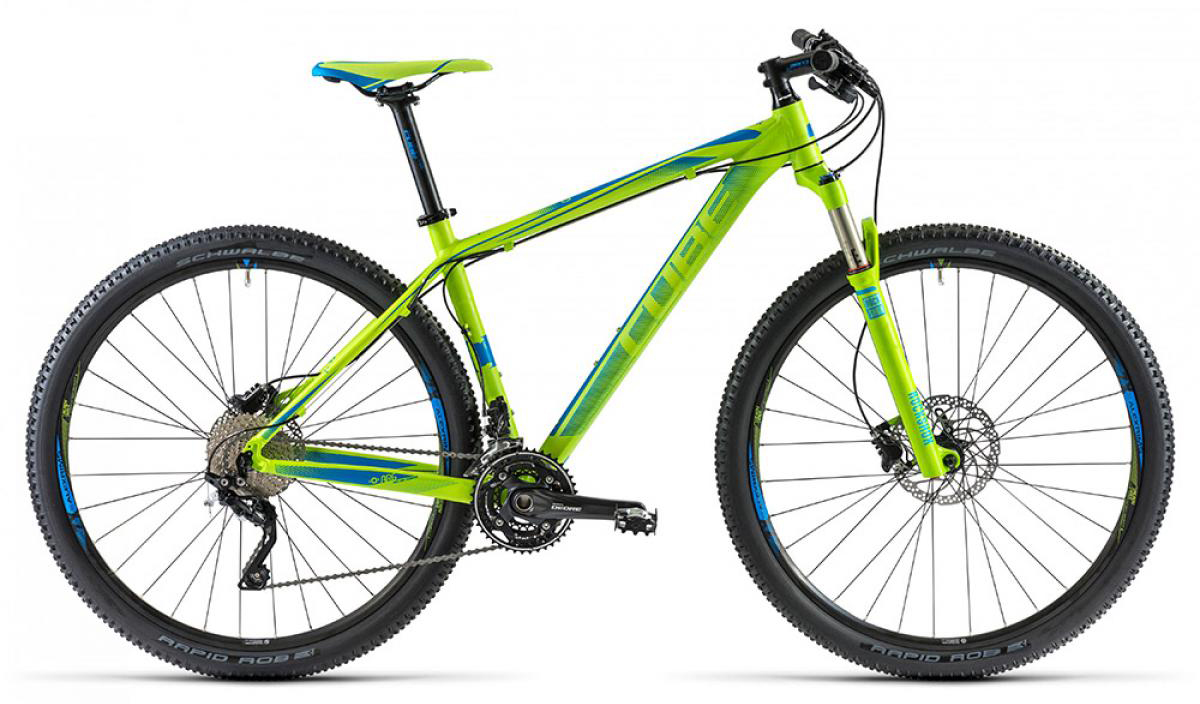 Велосипед горный Cube LTD 2014, цвет: синий, рама 19, колесо 29112499