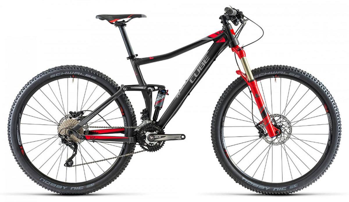 Велосипед горный Cube Sting 120 HPA 2014, двухподвесный, цвет: красный, рама 20, колесо 29112756