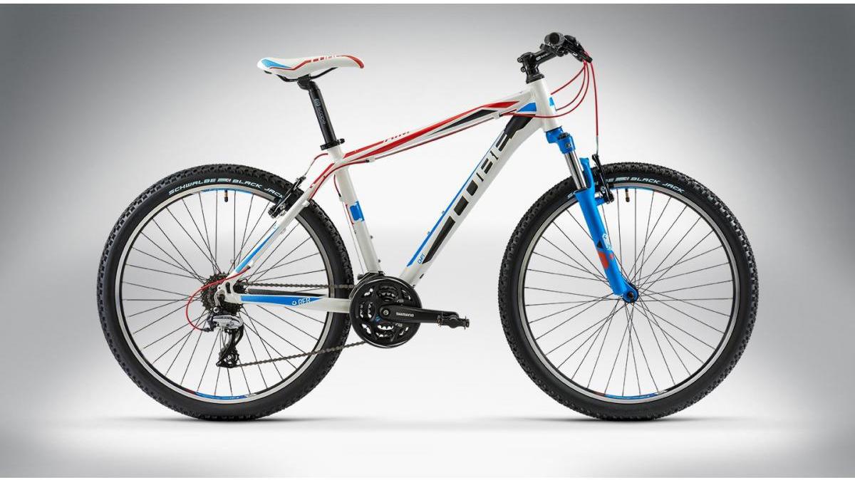 Велосипед горный Cube AIM 2014, цвет: серый, рама 18, колесо 26113118