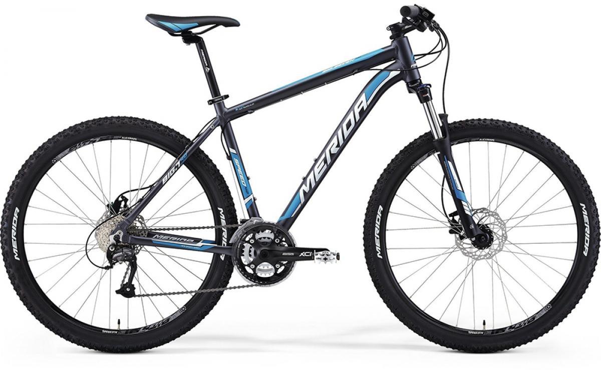 Велосипед горный Merida Big.Seven 40 2014, цвет: синий, рама 17, колесо 27,5113479
