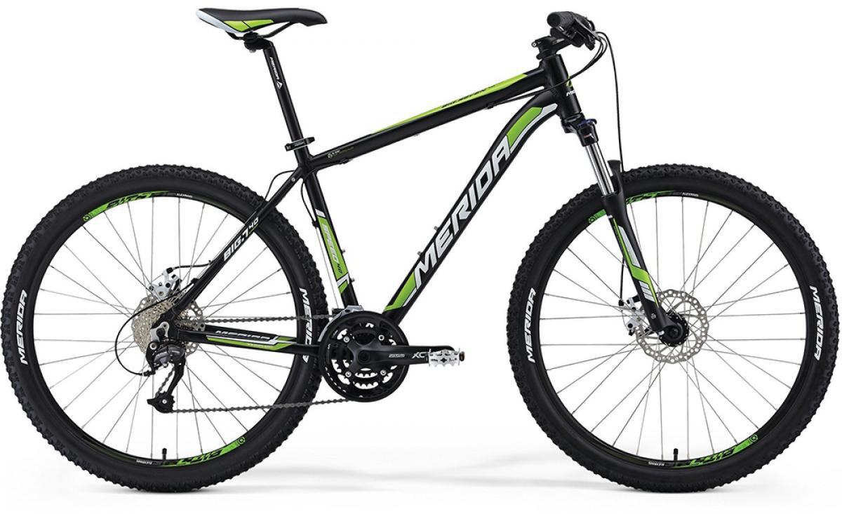 Велосипед горный Merida Big.Seven 40MD 2014, цвет: зеленый, рама 18,5, колесо 27,5113489