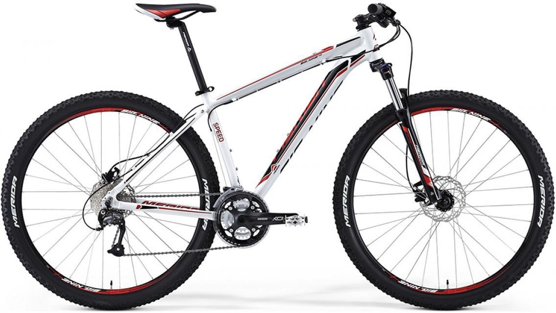 Велосипед горный Merida Big.Nine 40 2014, цвет: белый, рама 17, колесо 29113514