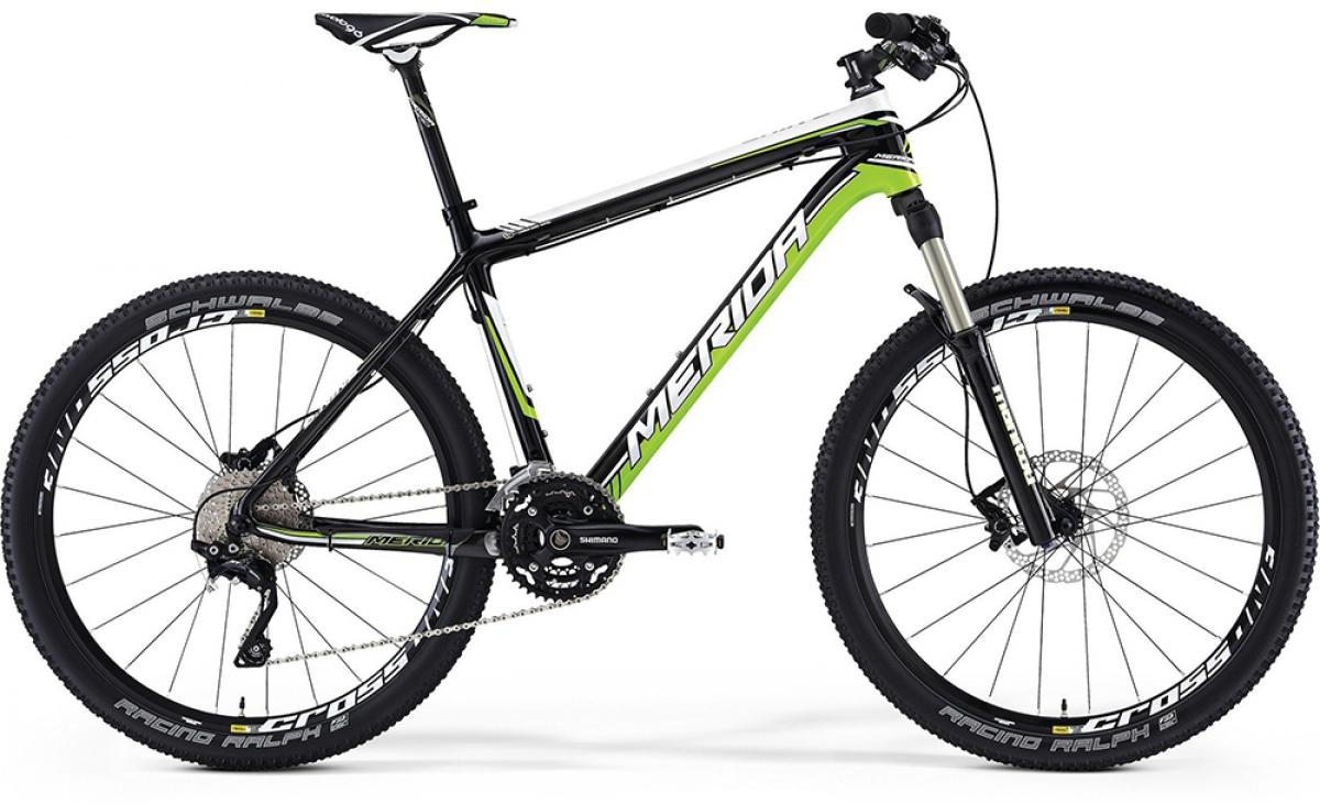 Велосипед горный Merida O.Nine CF 1000 2014, цвет: зеленый, рама 20, колесо 26113952