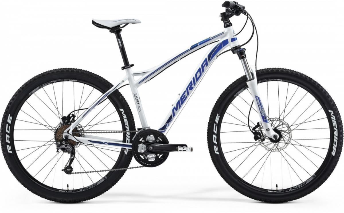 Велосипед женский Merida Juliet 300-D 2014, цвет: белый, рама 15, колесо 26114026