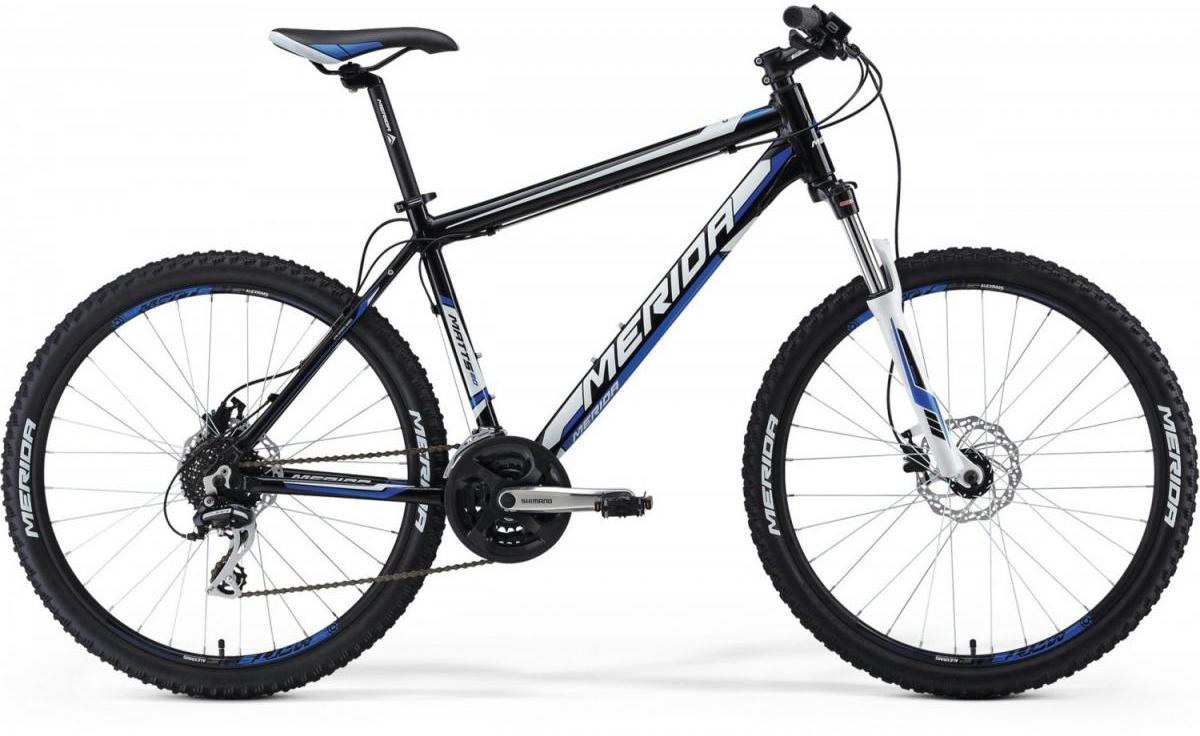 Велосипед горный Merida Matts 20-D 2014, цвет: белый, рама 20, колесо 26114945