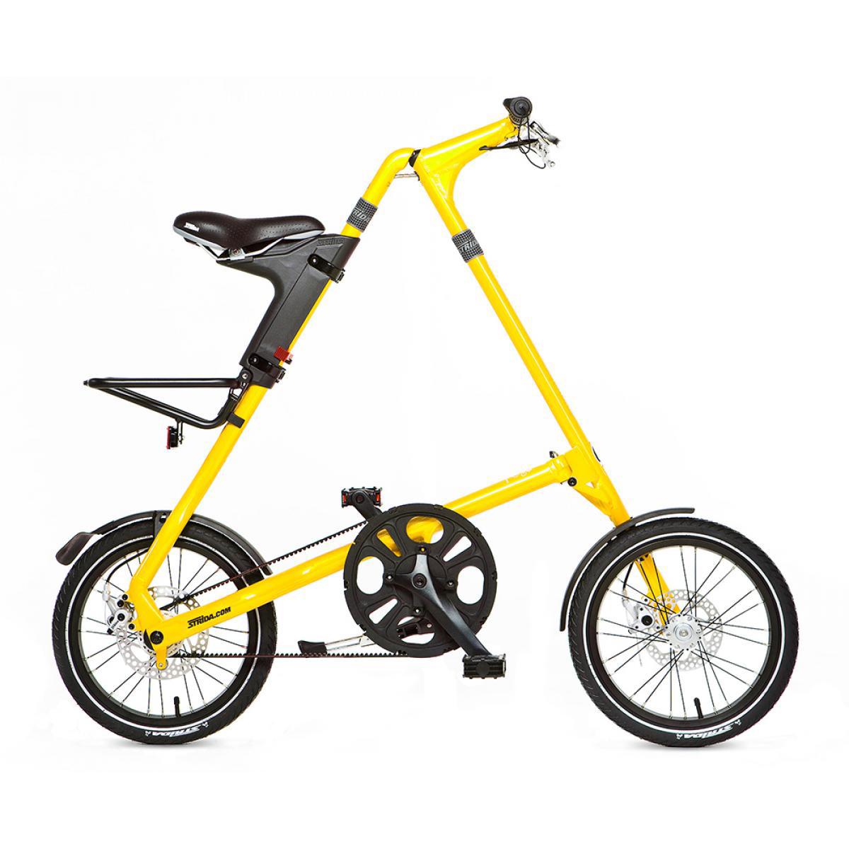 Велосипед складной Strida 5.2 2014, цвет: белый, рама 16, колесо 16115876