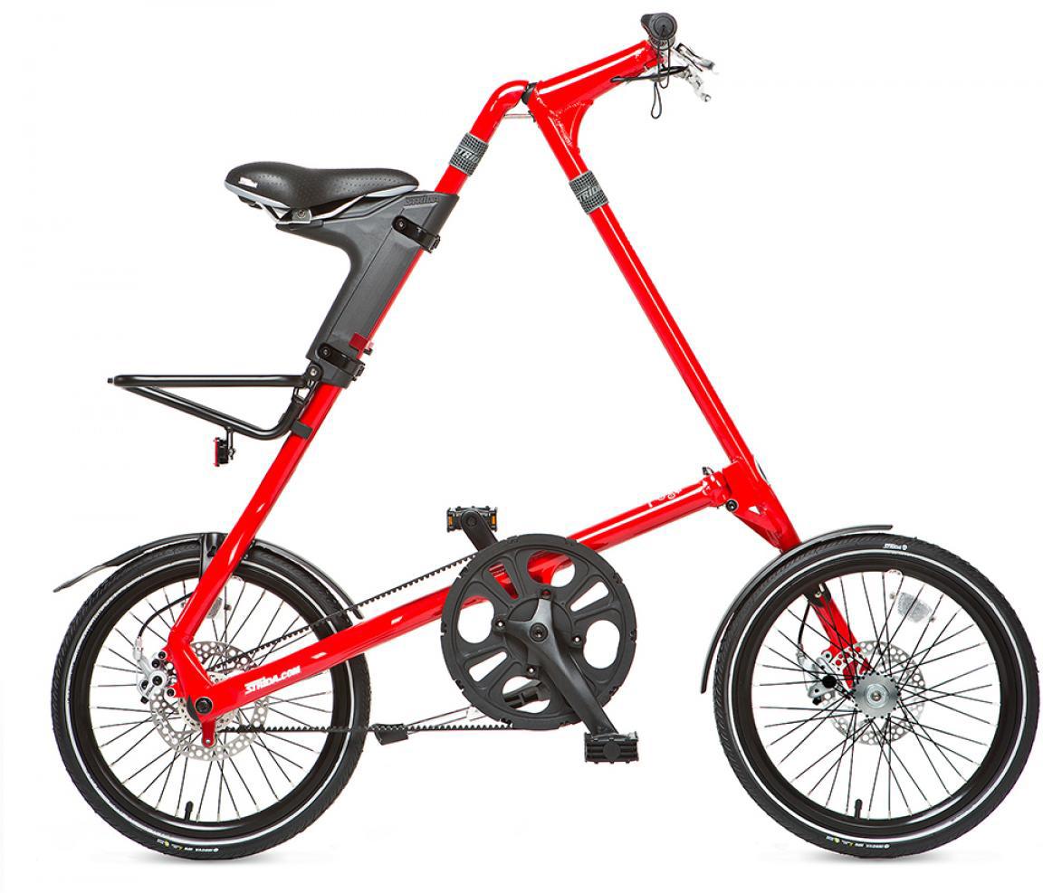 Велосипед складной Strida SX 2014, цвет: белый, рама 16, колесо 18. 115883115883