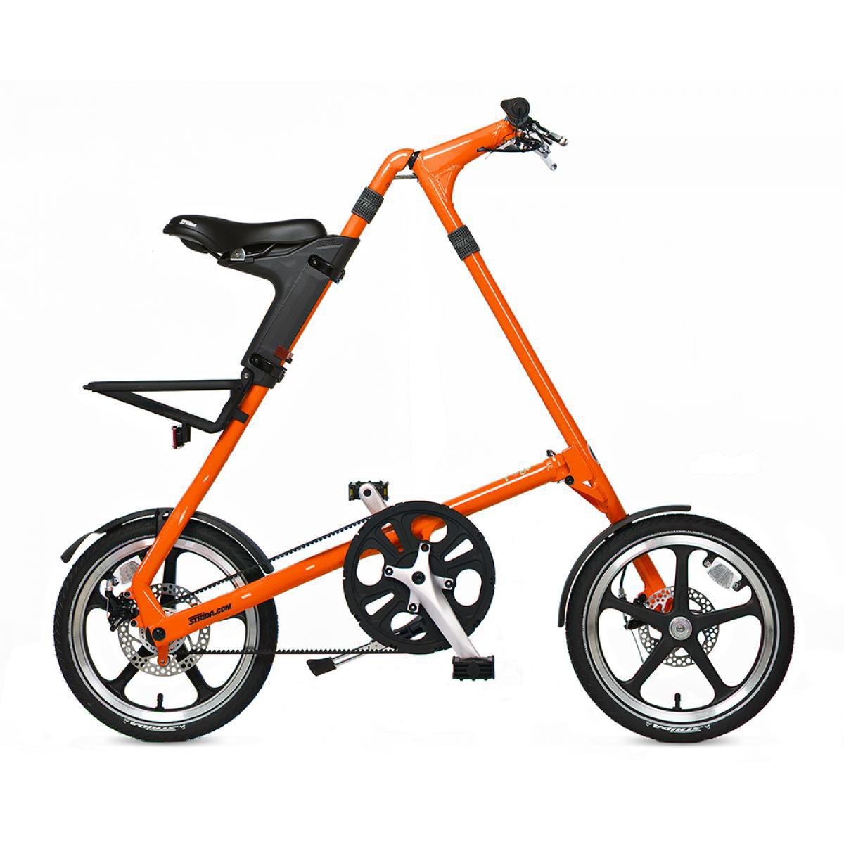 Велосипед складной Strida LT 2014, цвет: серый, рама 16, колесо 16115886