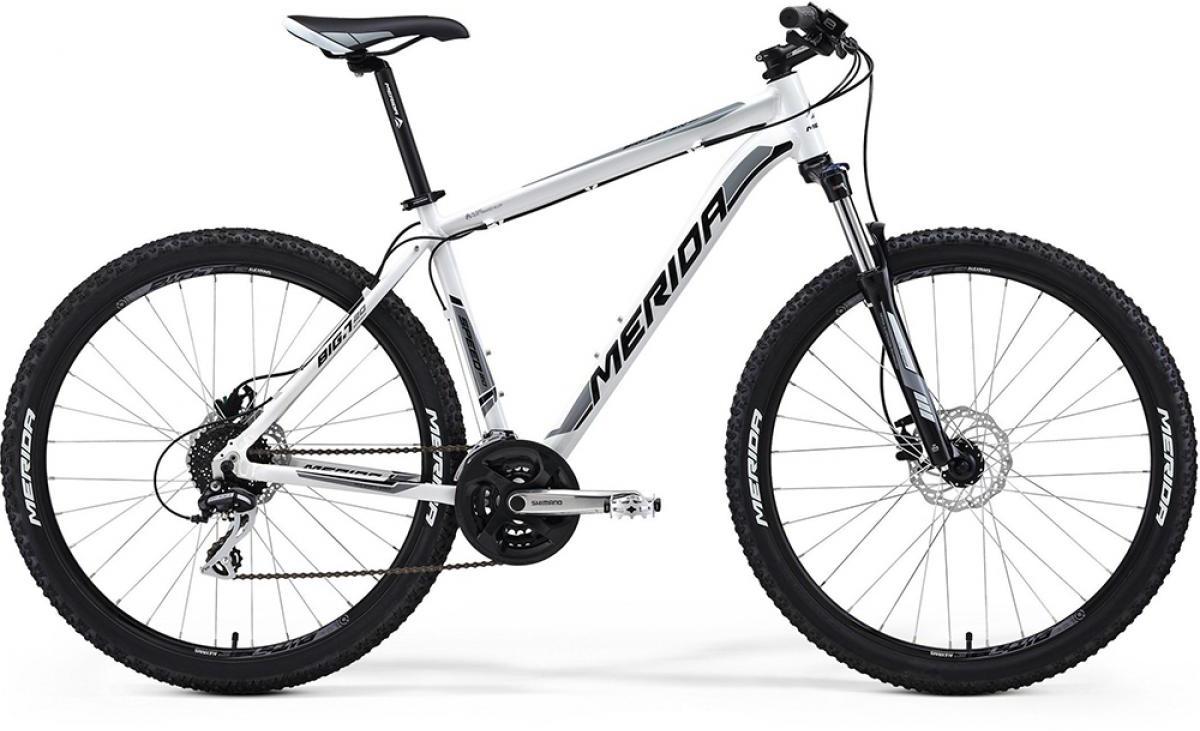 Велосипед горный Merida Big.Seven 20D 2014, цвет: белый, рама 21,5, колесо 27,5117225