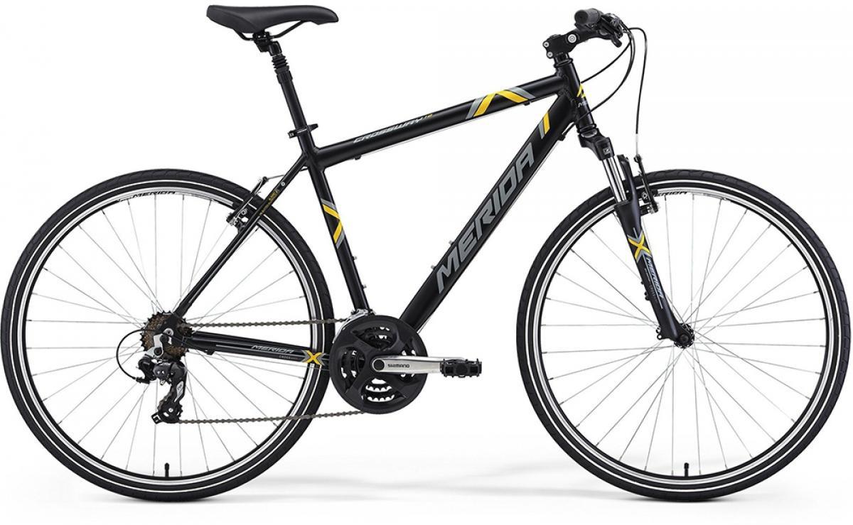 Велосипед городской Merida Crossway 10 2014, цвет: белый, рама 19, колесо 28117238