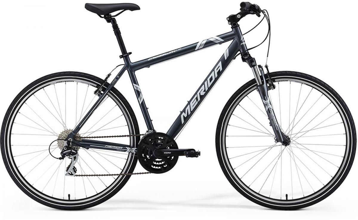 Велосипед городской Merida Crossway 15 2014, цвет: серый, рама 20,5, колесо 28117255