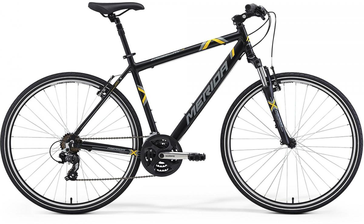 Велосипед городской Merida Crossway 10 2014, цвет: белый, рама 16, колесо 28124323