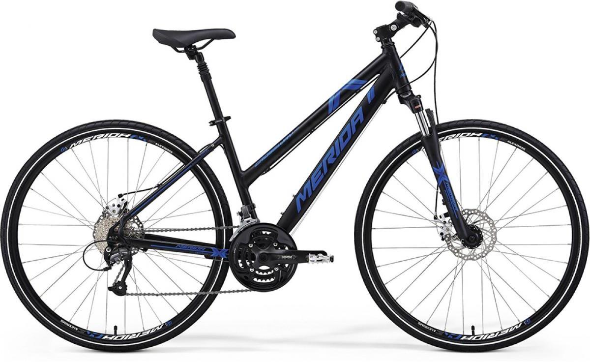 Велосипед женский Merida Crossway 40-MD Lady 2014, цвет: белый, рама 18, колесо 28124351