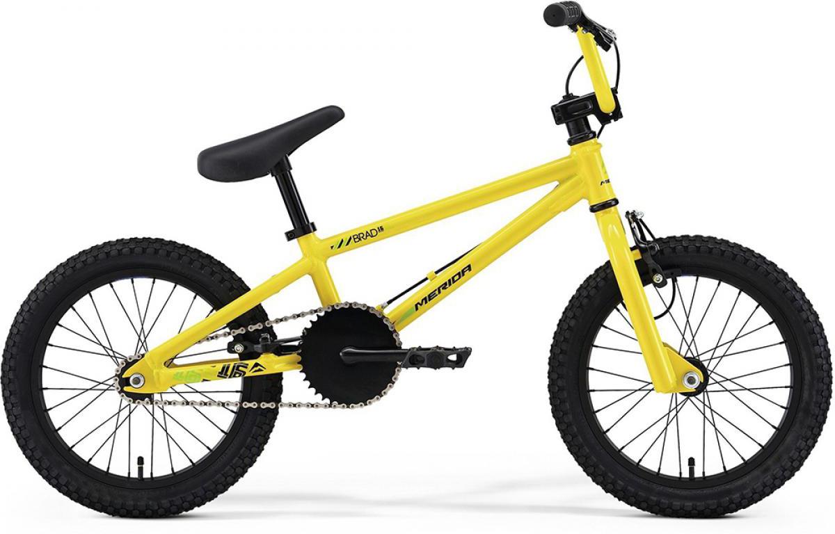 Велосипед BMX Merida Brad 16 2014, цвет: желтый, колесо 16124522