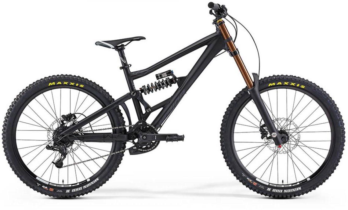 Велосипед горный Merida One-Eighty 6.500 2015, двухподвесный, цвет: черный, рама 18, колесо 26197490