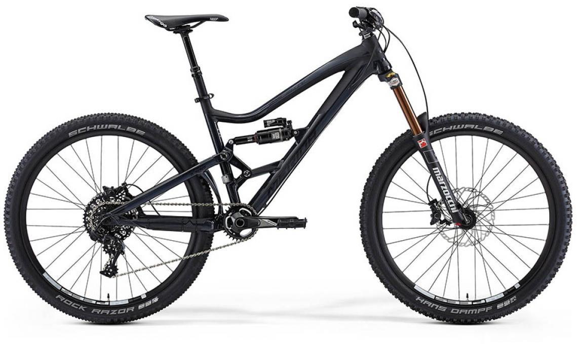 Велосипед горный Merida One-Sixty 7.700 2015, двухподвесный, цвет: черный, рама 22, колесо 27,5197499
