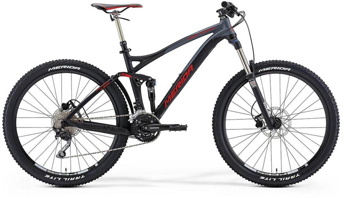 Велосипед горный Merida One-Forty 7.500 2015, двухподвесный, цвет: черный, рама 18, колесо 27,5197517