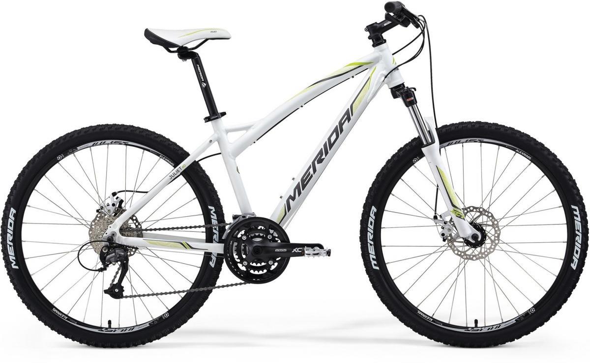 Велосипед женский Merida Juliet 40-MD 2014, цвет: белый, рама 13,5, колесо 26197764