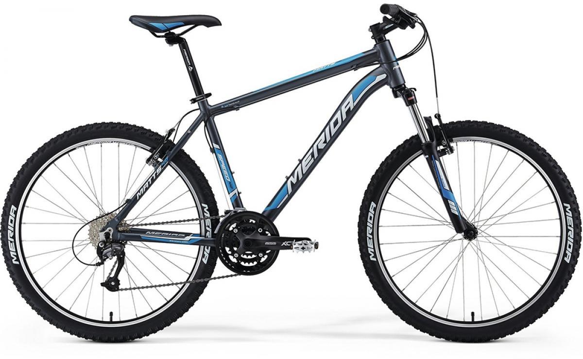 Велосипед горный Merida Matts 40-V 2014, цвет: синий, рама 22, колесо 26197770