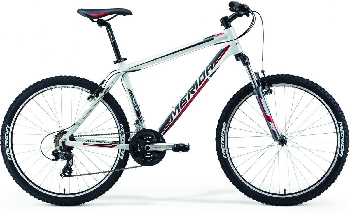 Велосипед горный Merida Matts 10 2014, цвет: белый, рама 22, колесо 26233176