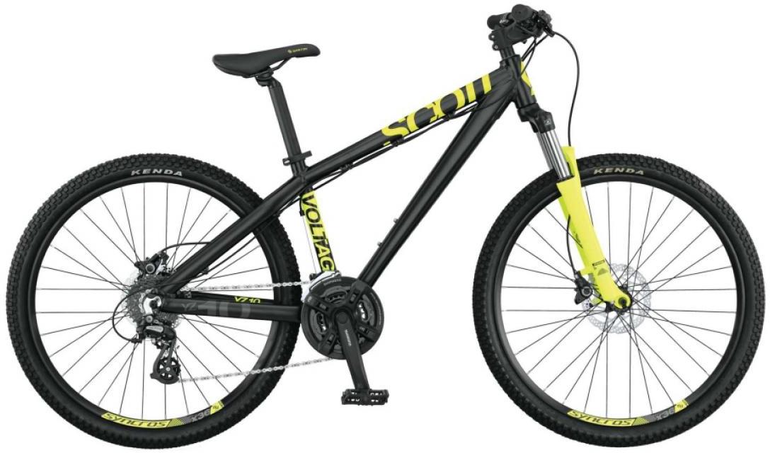 Велосипед трюковый Scott Voltage YZ 10 2015, цвет: черный, рама 16, колесо 26250921