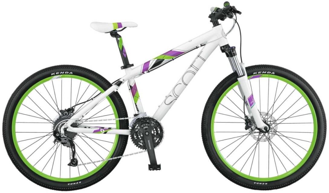 Велосипед женский Scott Contessa 610 2015, цвет: белый, рама 18, колесо 26250954