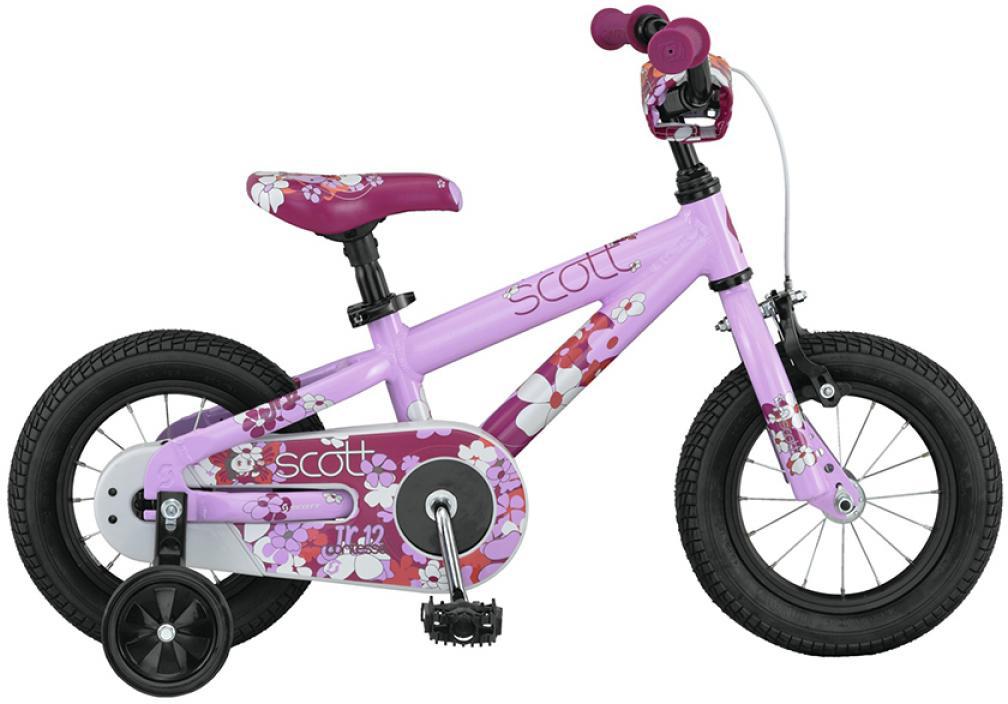 Велосипед детский Scott Contessa Junior 2015, цвет: розовый, рама , колесо 12250965