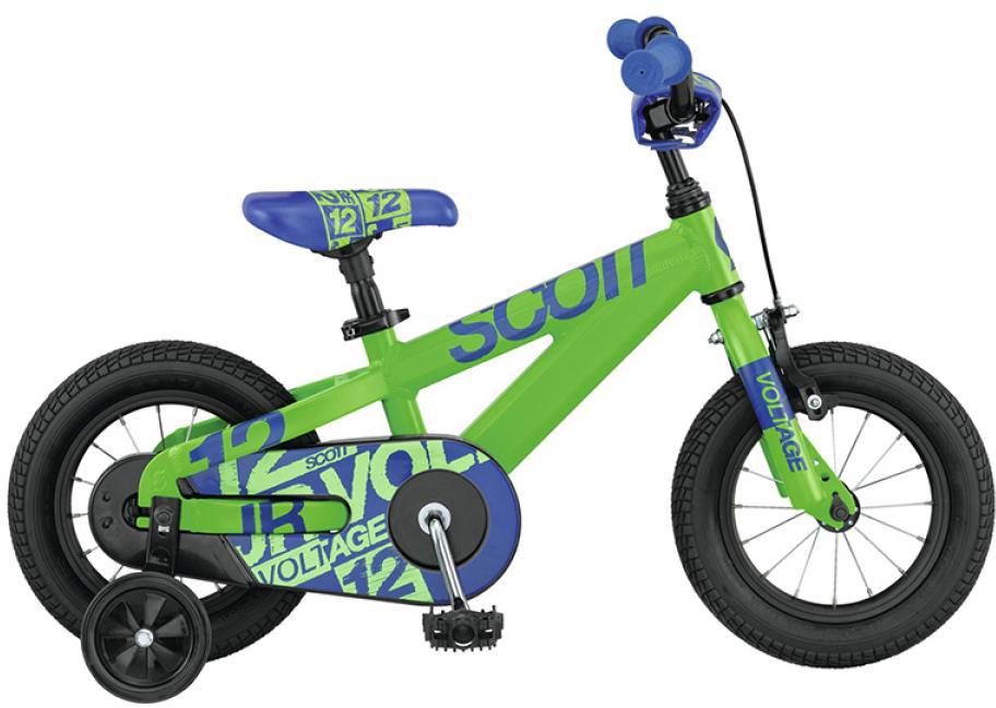 Велосипед детский Scott Voltage Junior 2015, цвет: зеленый, рама , колесо 12250967