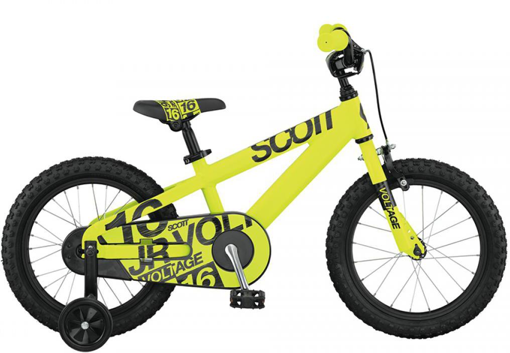 Велосипед детский Scott Voltage Junior 2015, цвет: черный, рама , колесо 16250969