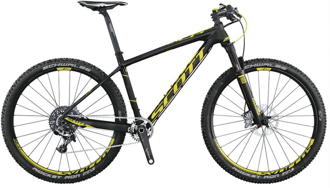 Велосипед горный Scott Scale 700 RC 2015, цвет: черный, рама 20, колесо 27,5253223