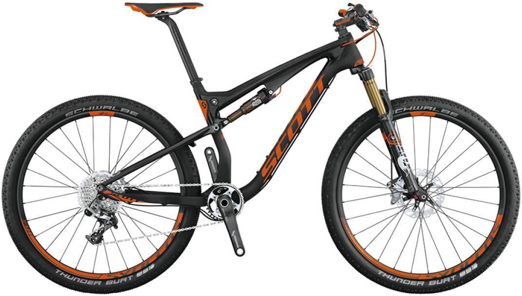 Велосипед горный Scott Spark 700 SL 2015, двухподвесный, цвет: черный, рама 16, колесо 27,5253270