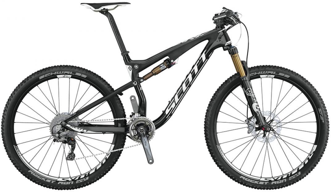 Велосипед горный Scott Spark 700 Premium 2015, двухподвесный, цвет: черный, рама 18, колесо 27,5253275