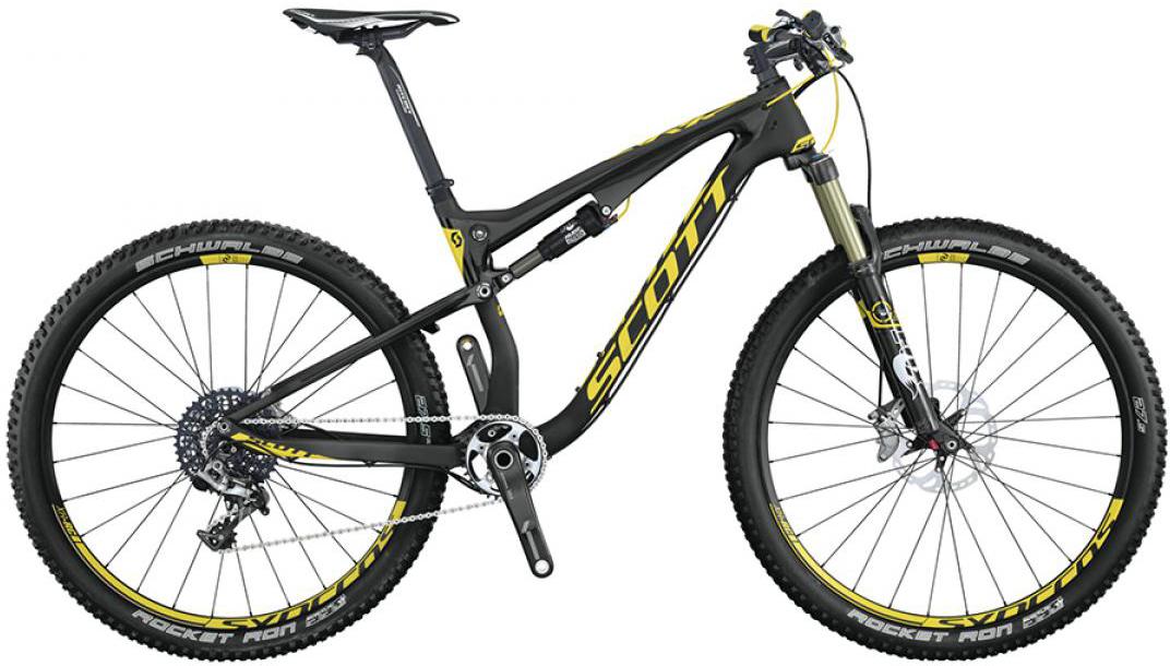 Велосипед горный Scott Spark 700 RC 2015, двухподвесный, цвет: черный, рама 18, колесо 27,5253279