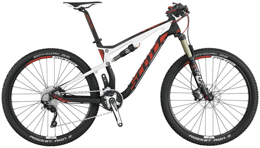 Велосипед горный Scott Spark 730 2015, двухподвесный, цвет: черный, рама 22, колесо 27,5253299