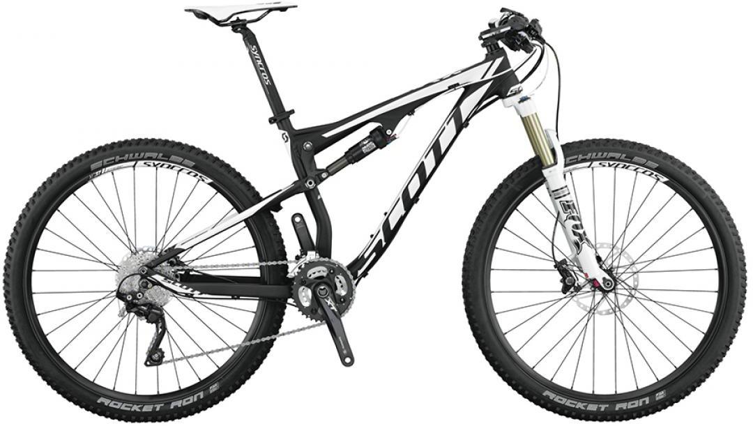Велосипед горный Scott Spark 740 2015, двухподвесный, цвет: черный, рама 22, колесо 27,5253302