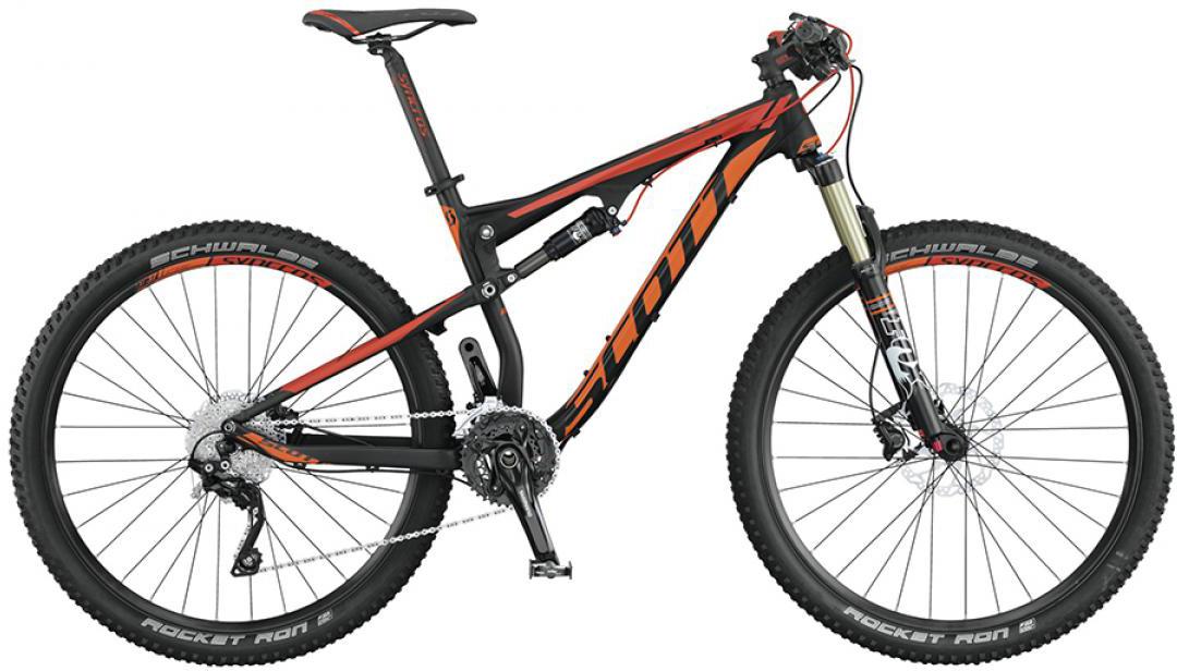 Велосипед горный Scott Spark 750 2015, двухподвесный, цвет: черный, рама 16, колесо 27,5253309