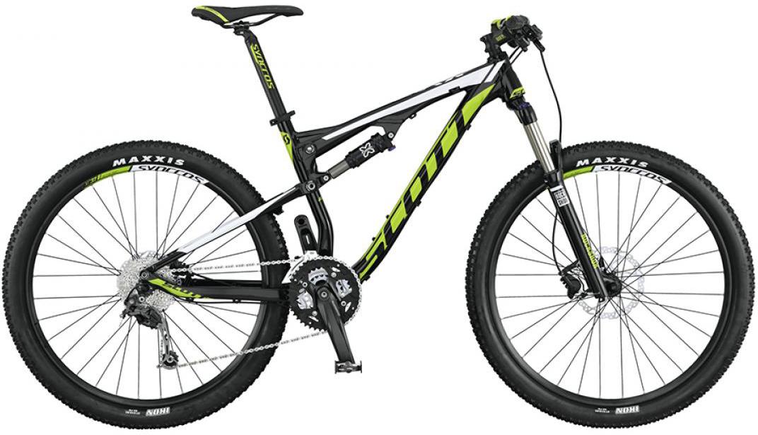Велосипед горный Scott Spark 760 2015, двухподвесный, цвет: черный, рама 16, колесо 27,5253312