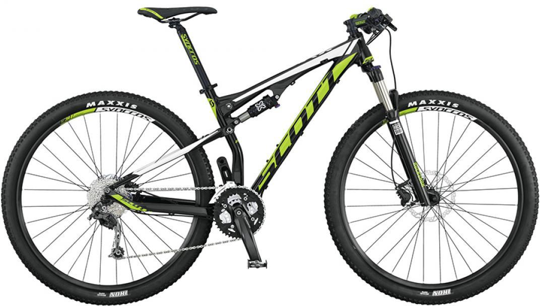 Велосипед горный Scott Spark 960 2015, двухподвесный, цвет: черный, рама 22, колесо 29253313
