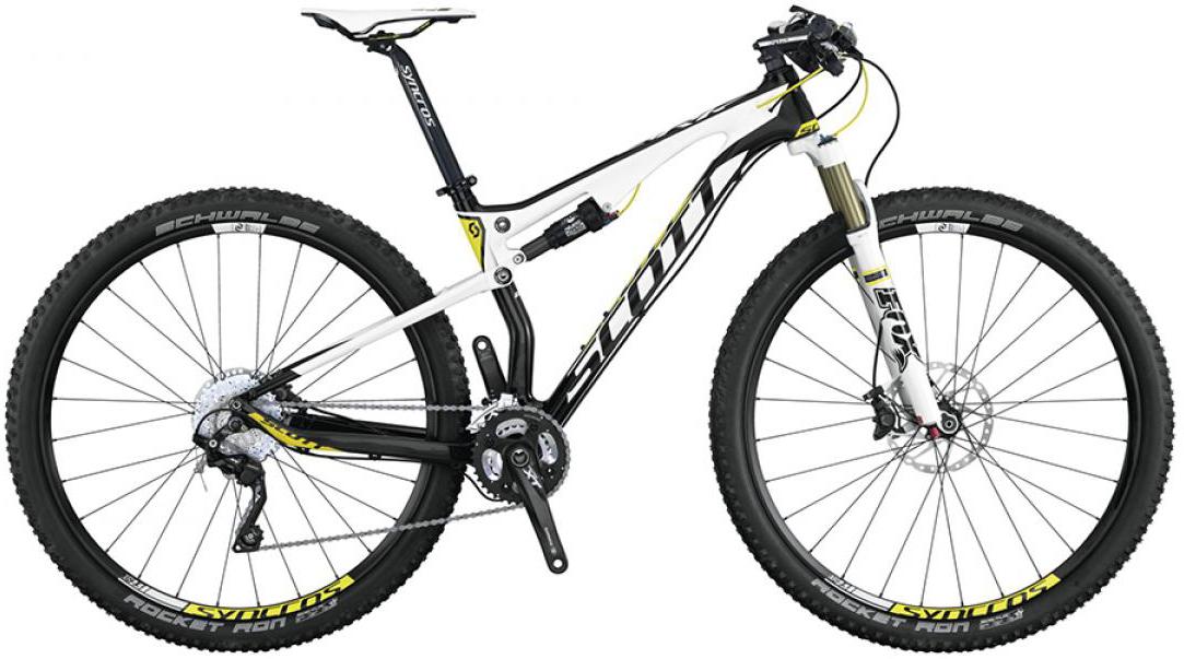 Велосипед горный Scott Spark 920 2015, двухподвесный, цвет: белый, рама 20, колесо 29253342