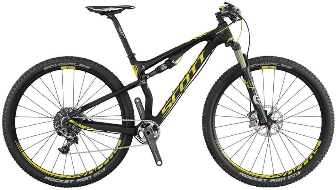 Велосипед горный Scott Spark 900 RC 2015, двухподвесный, цвет: черный, рама 18, колесо 29253351