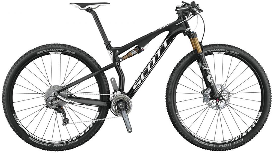 Велосипед горный Scott Spark 900 Premium 2015, двухподвесный, цвет: черный, рама 22, колесо 29253359