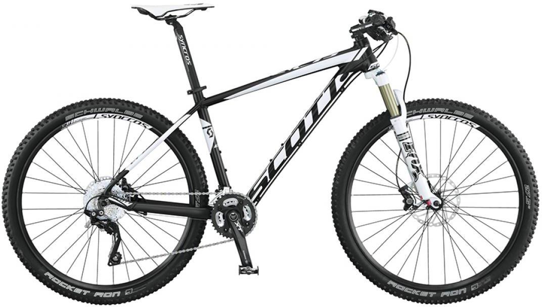 Велосипед горный Scott Scale 740 2015, цвет: черный, рама 22, колесо 27,5253374