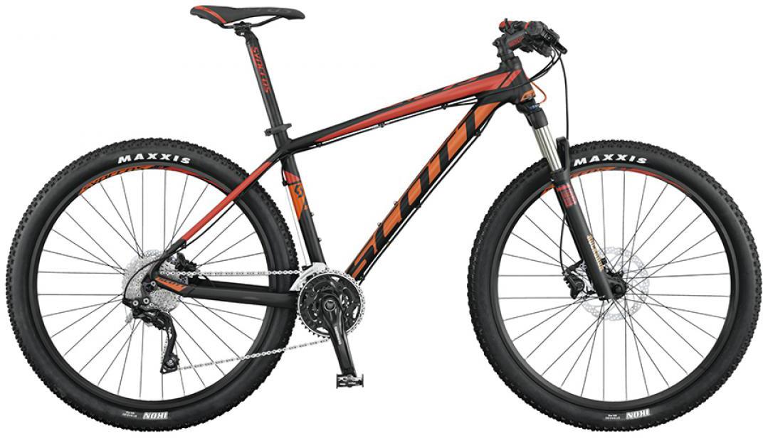 Велосипед горный Scott Scale 760 2015, цвет: черный, рама 16, колесо 27,5253379