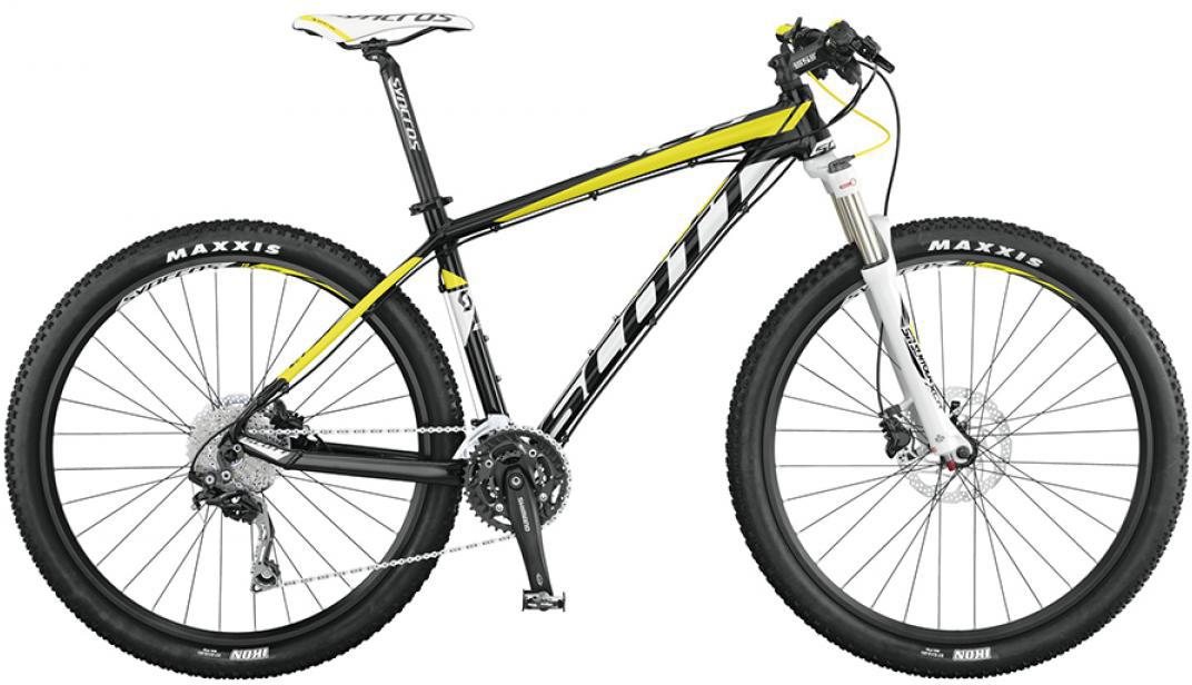 Велосипед горный Scott Scale 770 2015, цвет: черный, рама 14,5, колесо 27,5253381