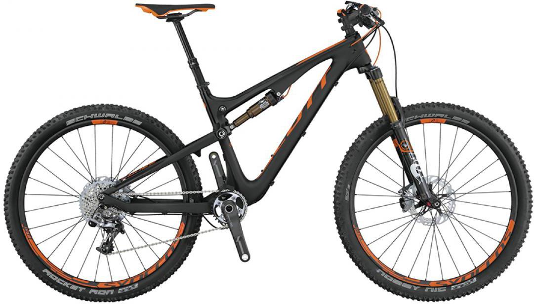Велосипед горный Scott Genius 700 Tuned 2015, двухподвесный, цвет: черный, рама 16, колесо 27,5253384