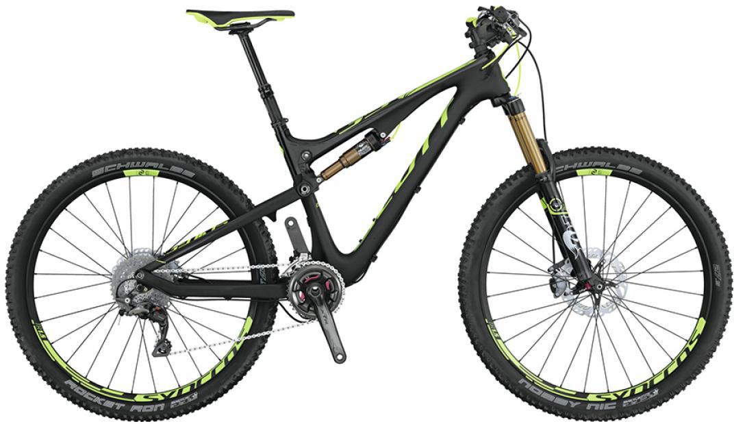 Велосипед горный Scott Genius 700 Premium 2015, двухподвесный, цвет: черный, рама 22, колесо 27,5253391